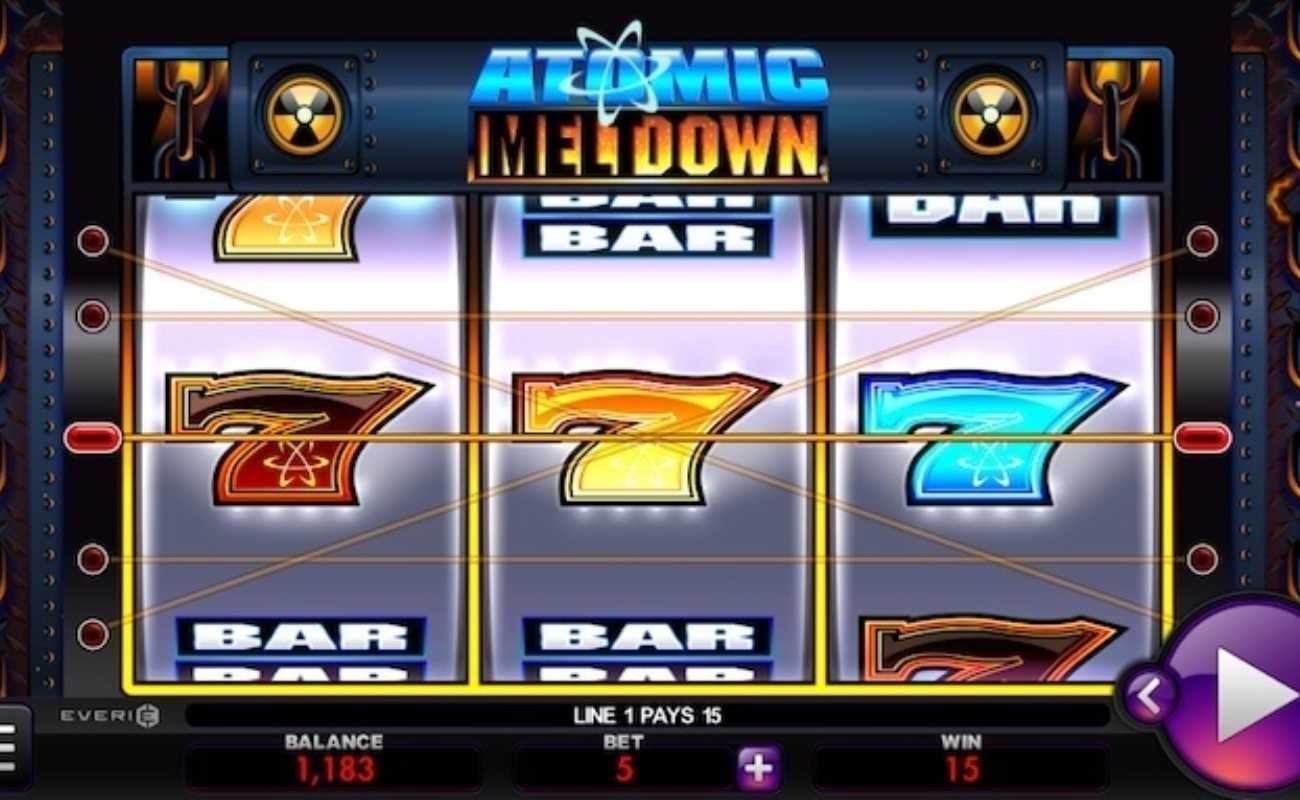 Atomic Meltdown online slot by Everi.