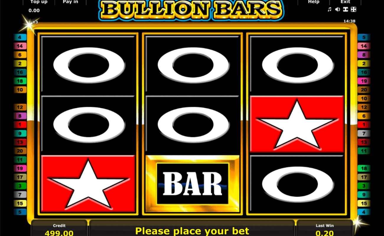 Bullion Bars online slot by Inspired Games.