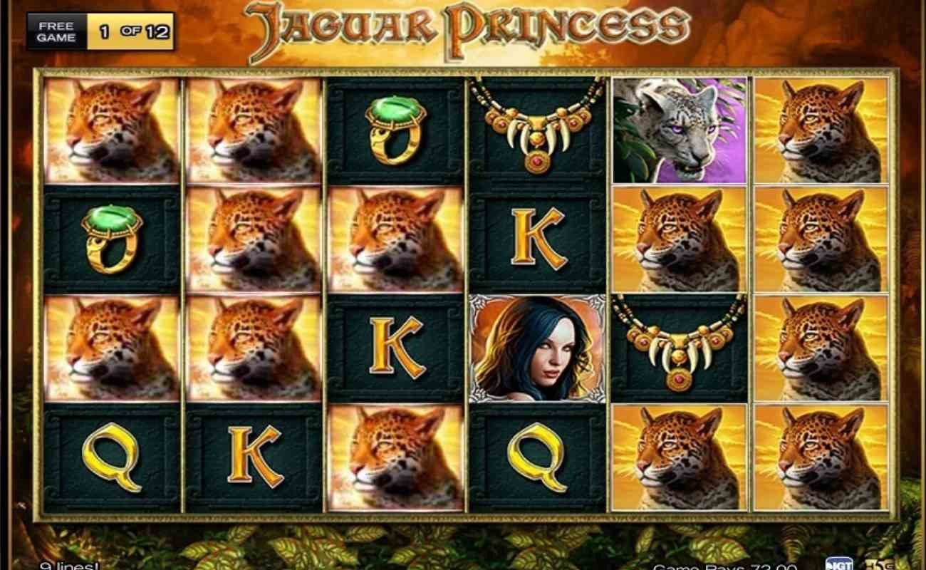 Jaguar Princess online slot by High 5 Games.