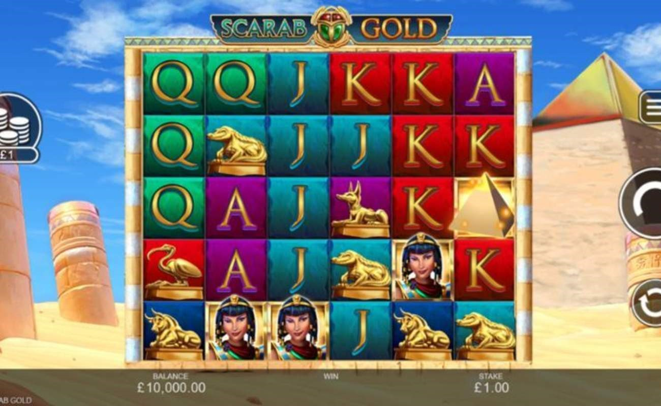 Scarab Gold online slot by Inspired Games.