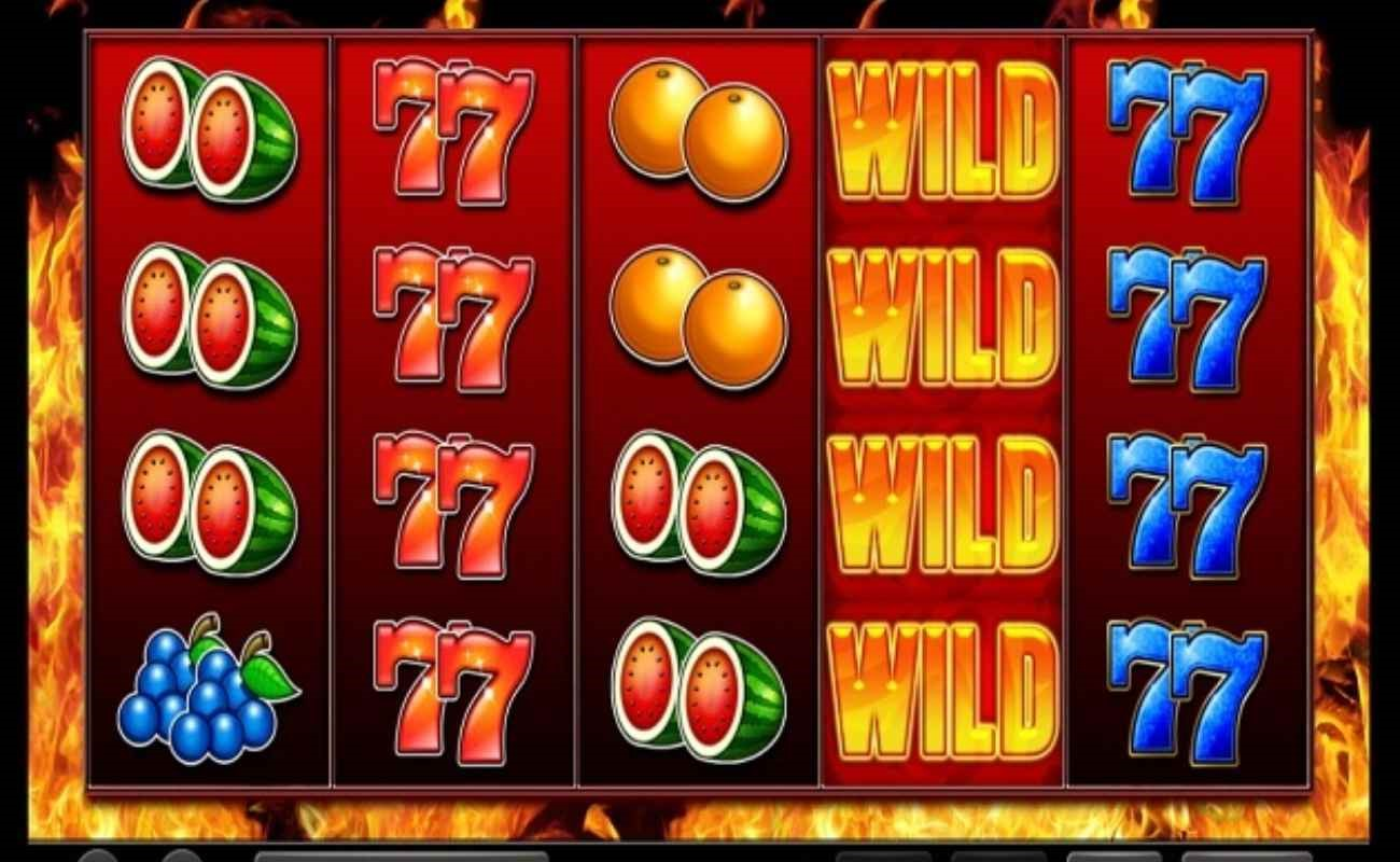 Super Fire 7s online slot by Inspired Games.