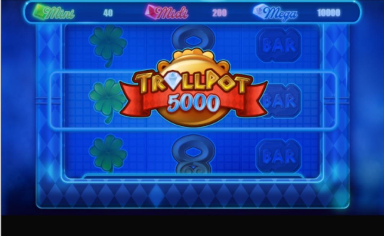Trollpot 5000 online slot by NetEnt.