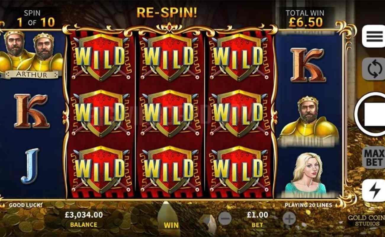 Arthur's Gold online slot by DGC.