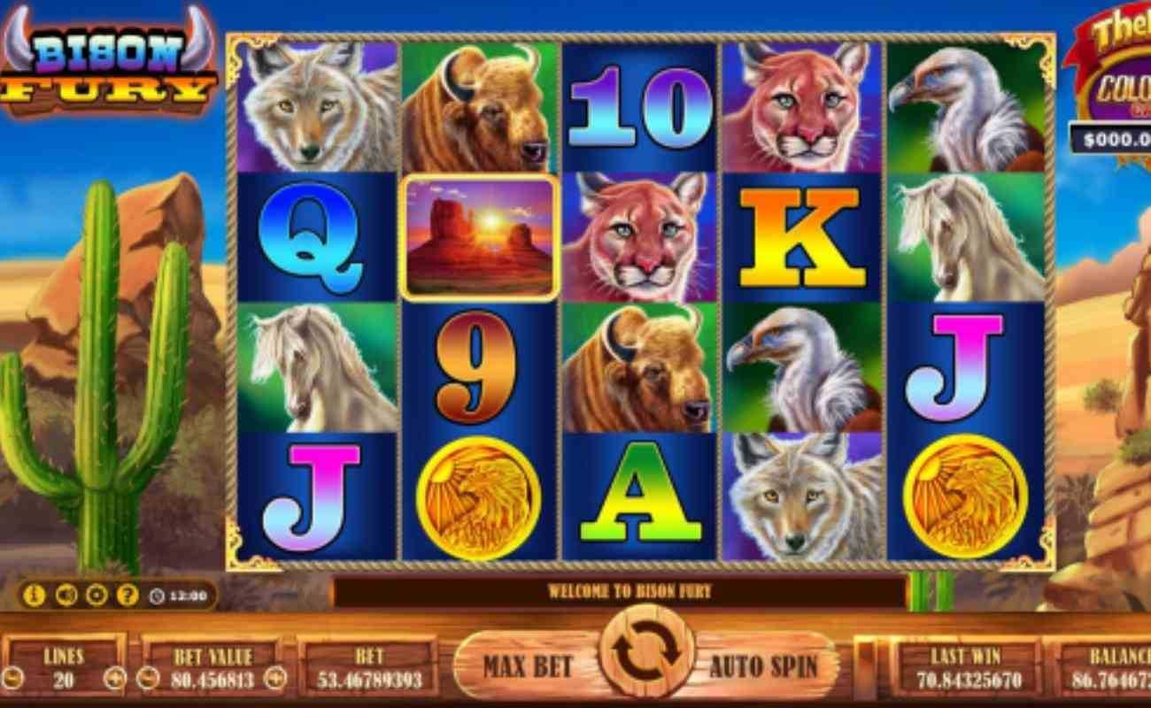 Bison Fury online slot by GVC.