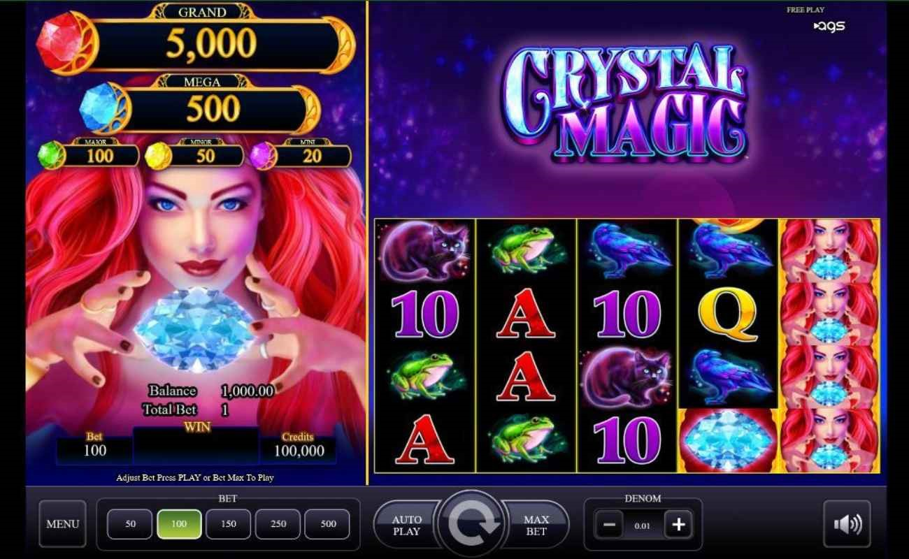 Crystal Magic online slot by AGS.