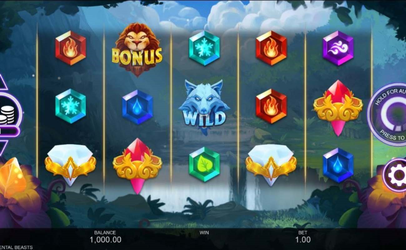 Elemental Beasts online slot by Inspired Gaming.
