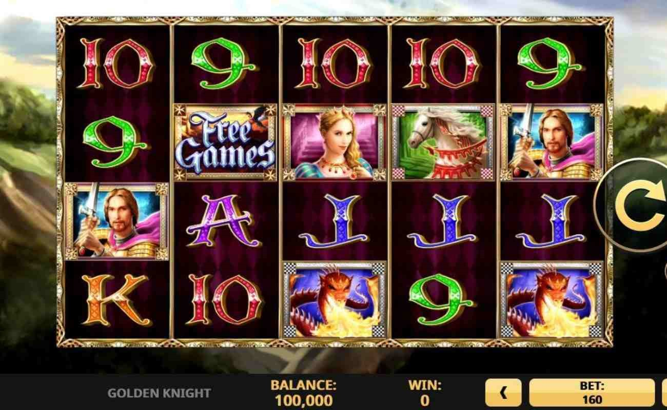 Golden Knight online slot by High 5 Games.