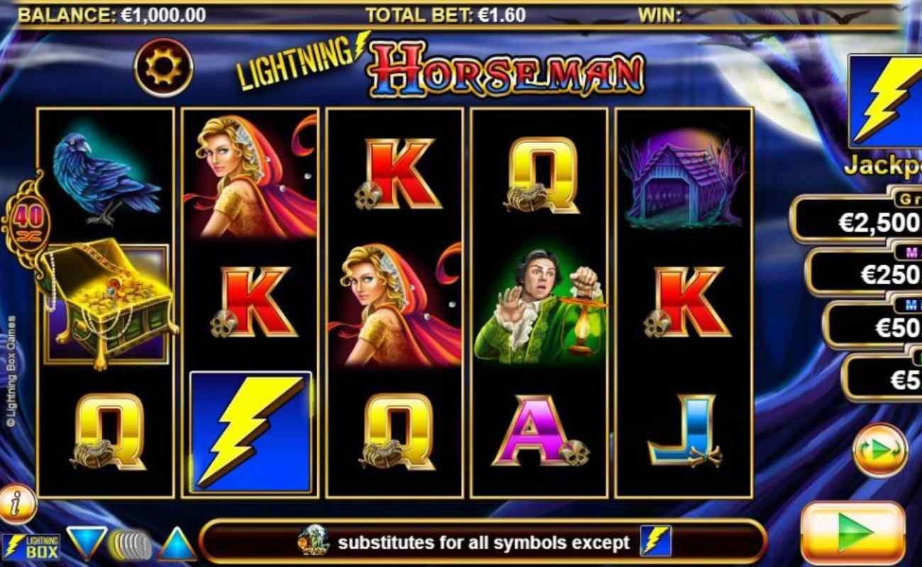 Lightning Horseman online slot by SG Digital.