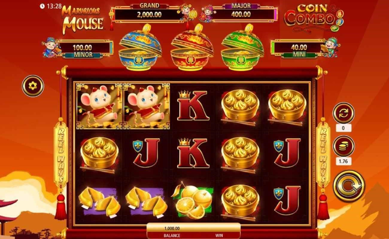 Marvelous Mouse Coin Combo online slot by SG Digital.