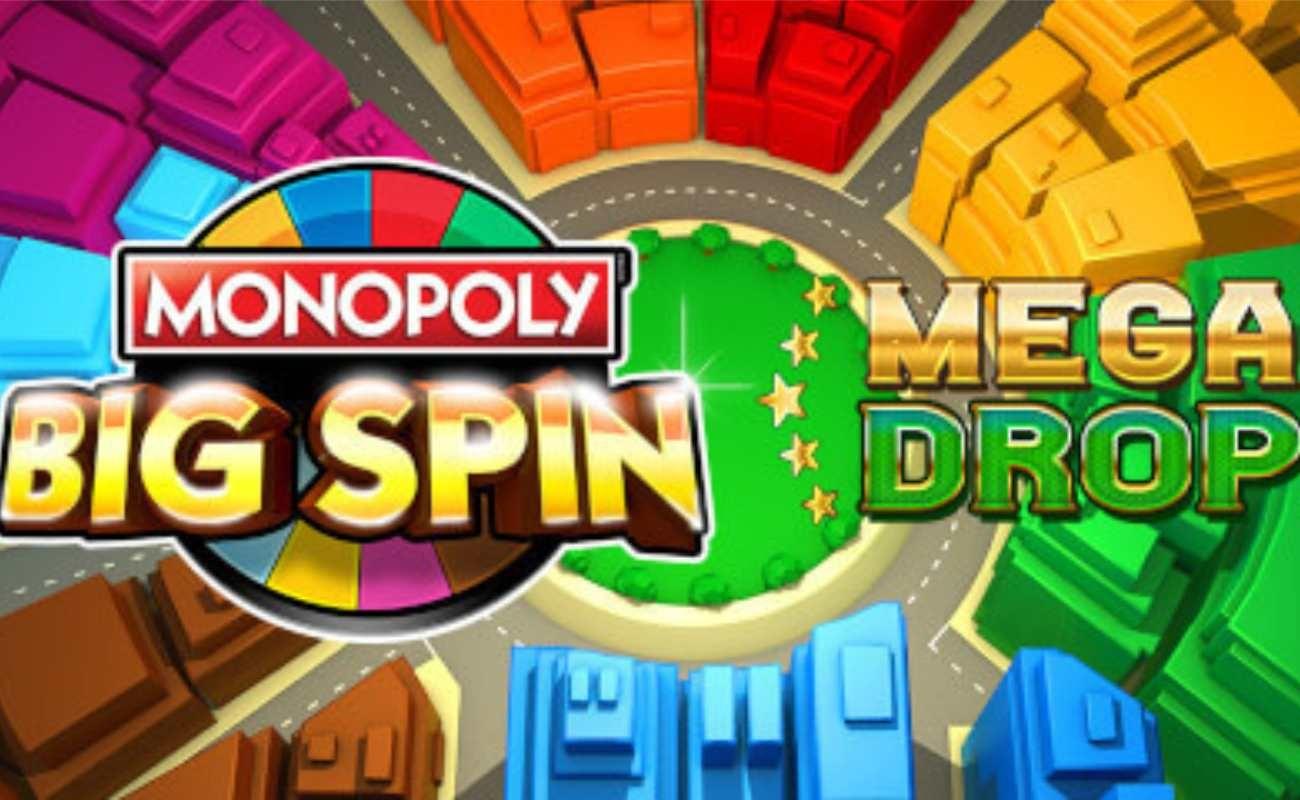 Monopoly Big Spin Mega Drop online slot by SG Digital.