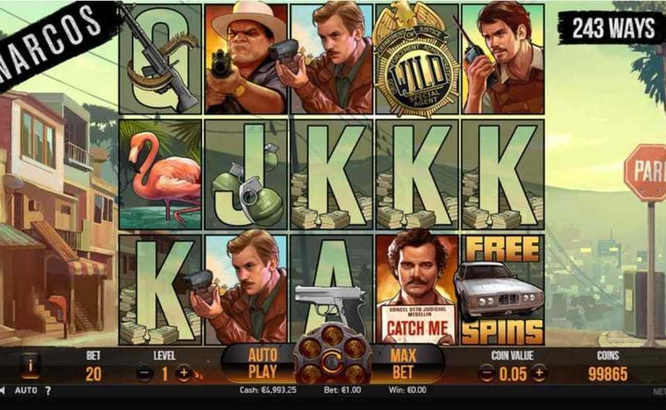 Narcos online slot by NetEnt.