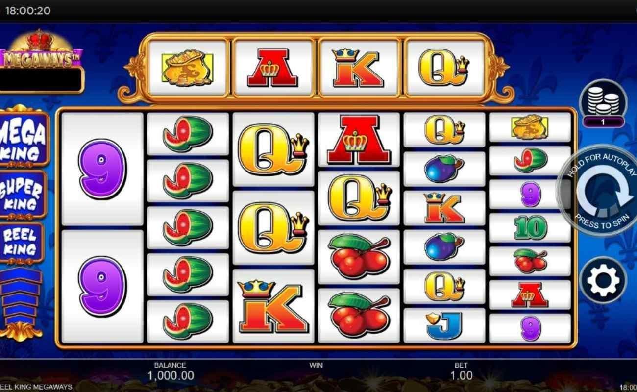 Reel King Megaways online slot by Inspired Gaming.