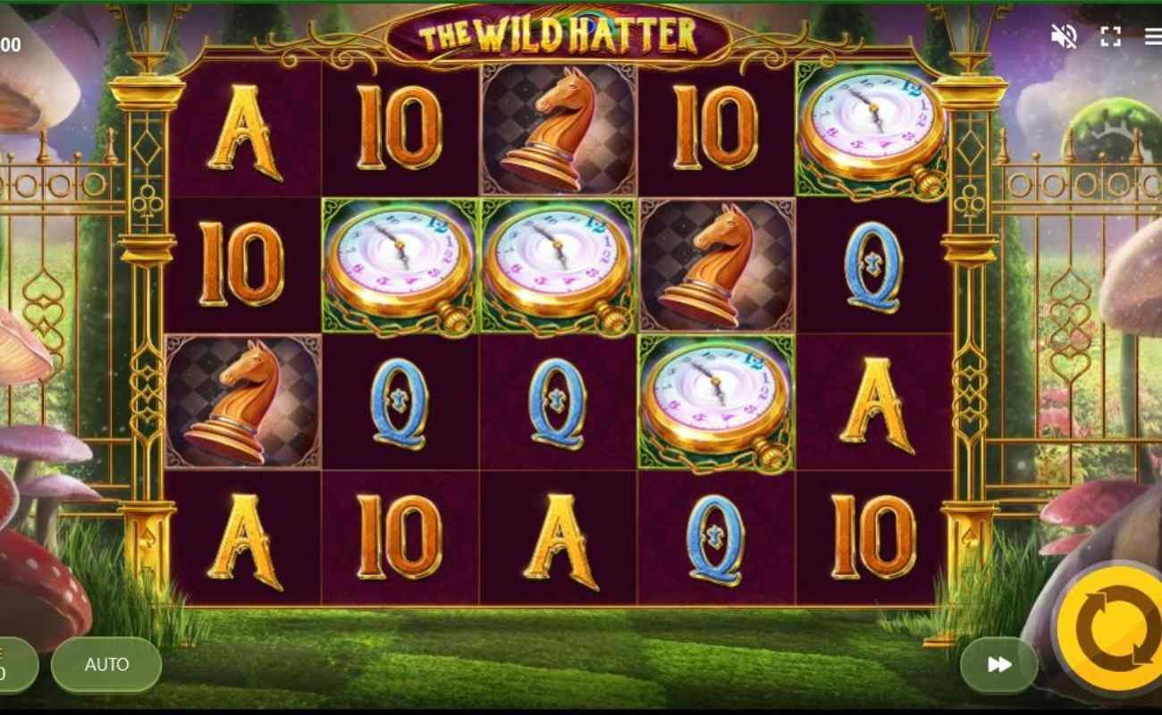 The Wild Hatter online slot by Red Tiger.