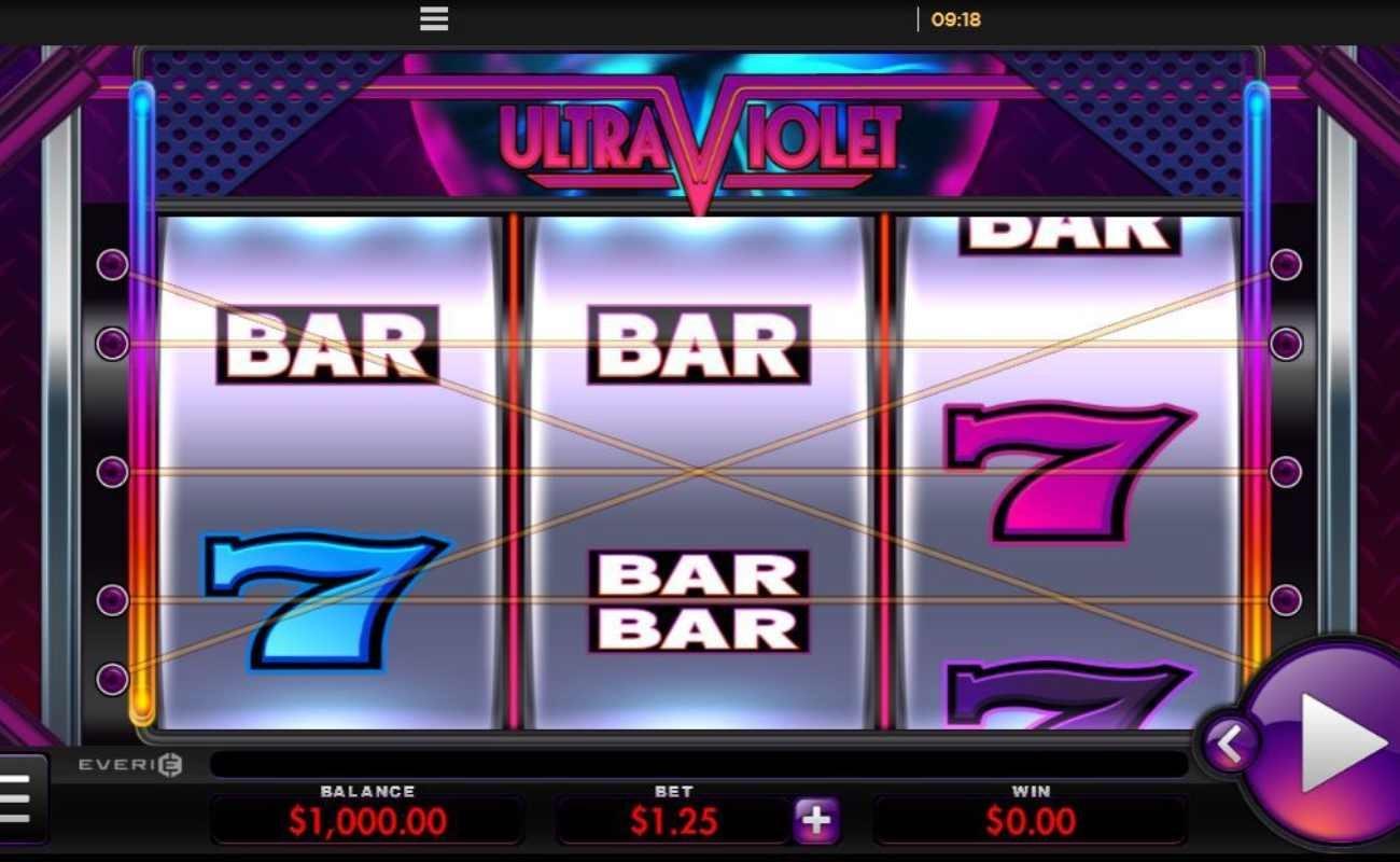 Ultra Violet online slot by Everi.