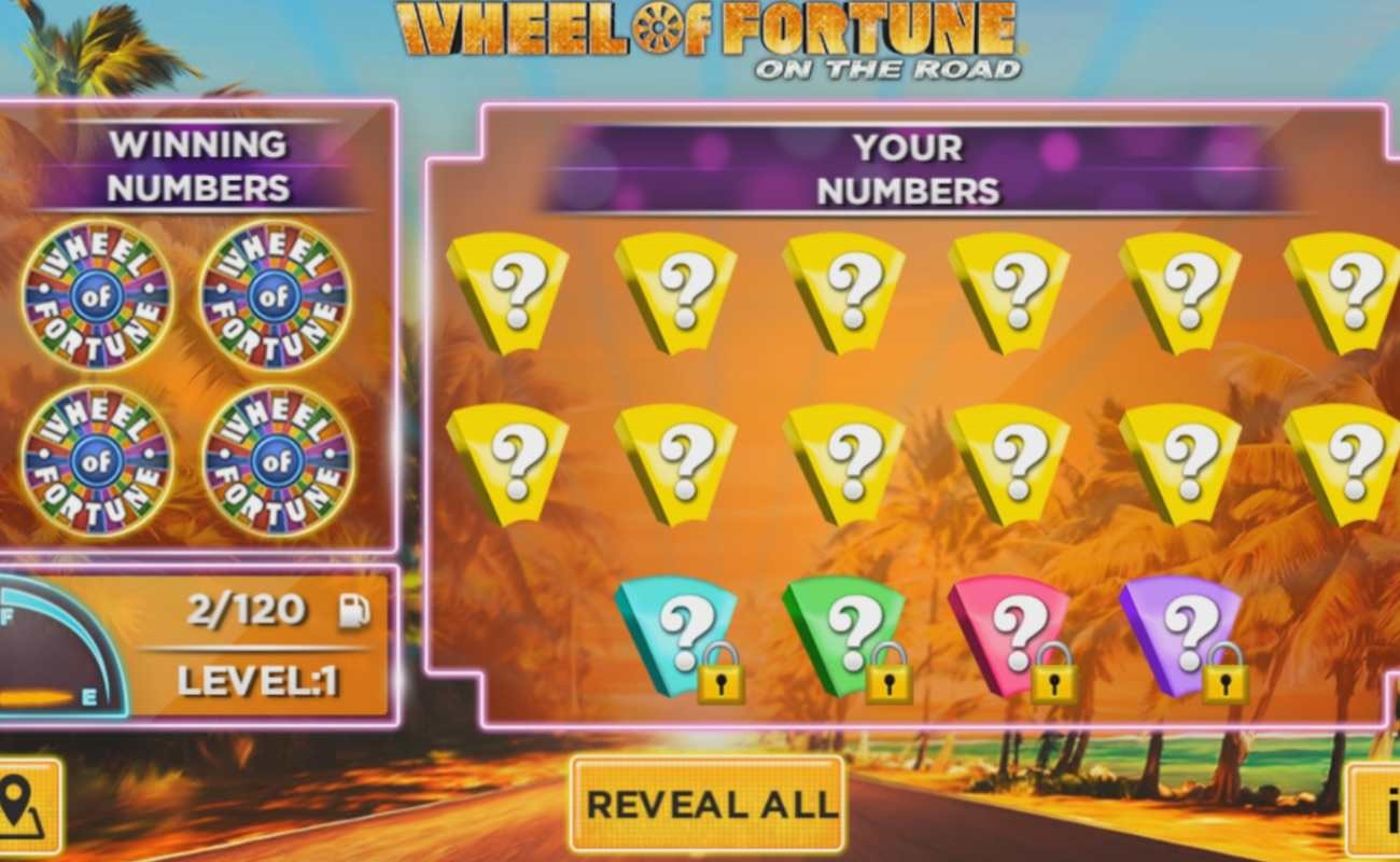 Wheel of Fortune On The Road online slot by IGT.