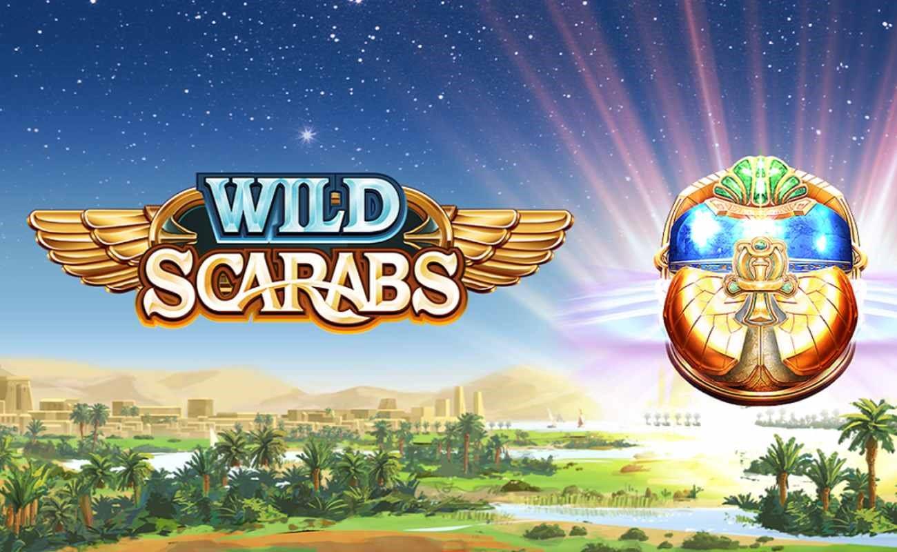 Wild Scarabs online slot by DGC.