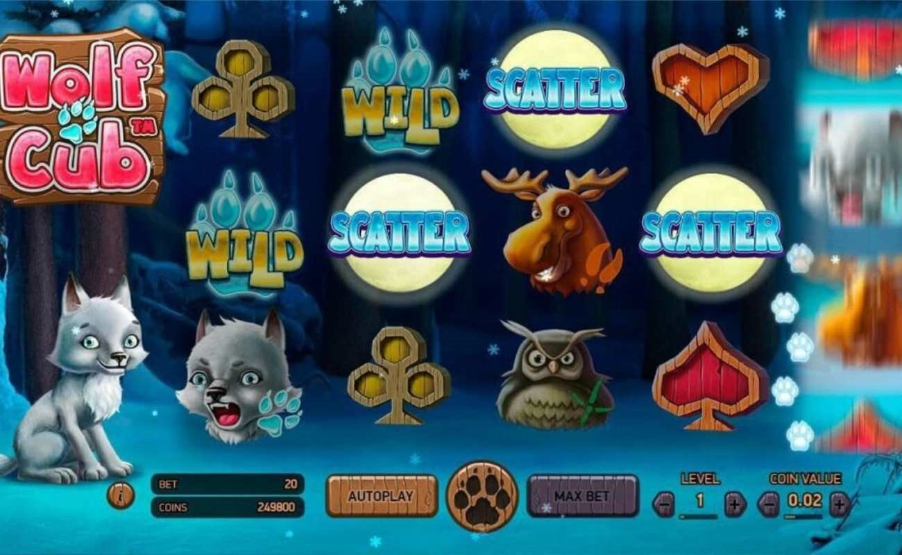 Wolf Cub online slot by NetEnt.