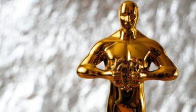 The Academy Awards' trophy – the Oscar statuette.