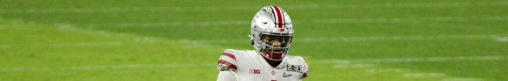 Justin Fields Bears NFL Draft Odds