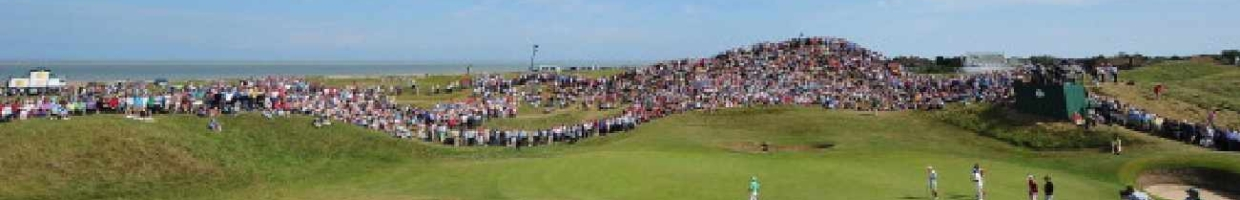Alt: Crowds at Royal St. George's golf course - Photo by Stuart Franklin/Getty Images