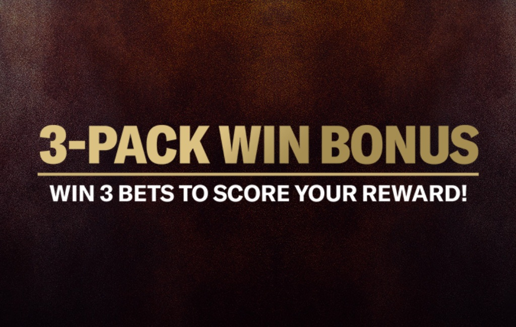 3-Pack Win Bonus BetMGM