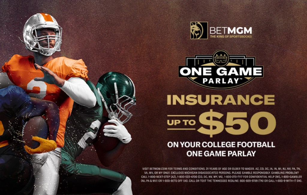 College Football One Game Parlay